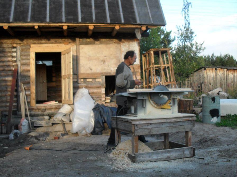 Поэт-рабочий. Николай Колычев на даче